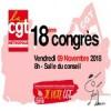 Vendredi 9 novembre, 18ème Congrès de la CGT-MEL