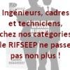 Ingénieurs, cadres et techniciens, chez nos catégories  le RIFSEEP ne passe pas non plus!